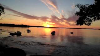 Early Morning SUNSET | Gray Homestead Ocean Front Campground | Southport Island Maine