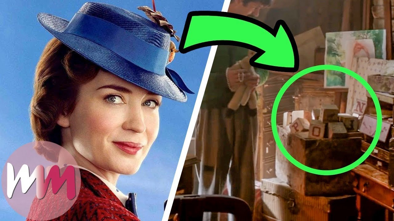 Top 10 Things You Missed In Mary Poppins Returns Watchmojo Com