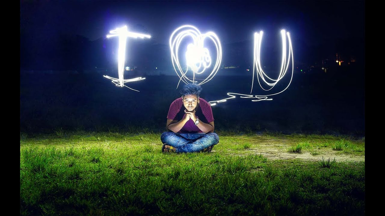 Photography Light Painting Effect