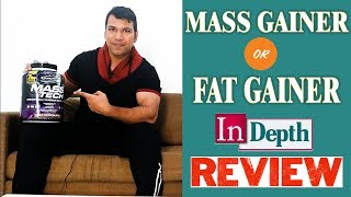 MuscleTech Mass Tech Review l Mass Gainer Or Fat Gainer (In Hindi) ll By Sachin Malik