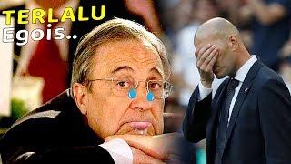 Florentino Perez dan Zinedine Zidane jilat ludahnya sendiri