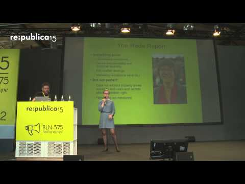 re:publica 2015 - Copyright reform, state of play on YouTube