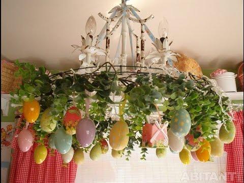 видео: Очаровательный пасхальный декор для украшения дома на Пасху