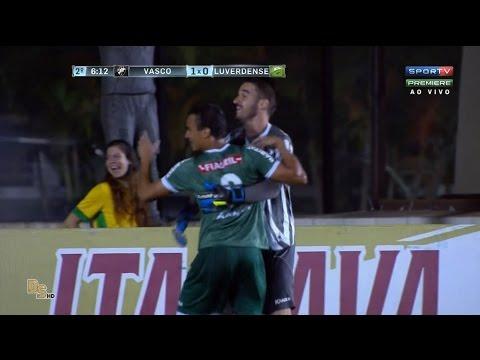Gols - Vasco 1 x 1 Luverdense - Brasileirão 2016 Série B