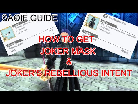 [SAOIF - Guide] HOW TO GET JOKER AVATAR | Persona 5 Royal Collaboration