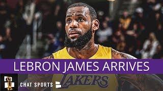 Lakers Rumors: LeBron James Arrives At Summer League, Kawhi Leonard Trade, & Lonzo Ball Surgery