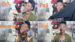 The Fall Favorites Tag