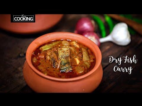 Karuvattu Kulambu | Dry Fish Recipe | Village Seafood Recipes