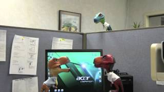 "Dinosaurs at the Office ""Karaoke"""