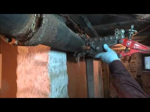 4 Inch Cast Iron Drain Pipe Repair