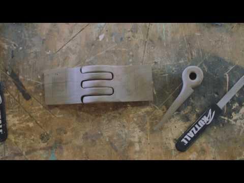 """WD8170 Kutzall Original 8/"""" Warding Hand Rasp Fine"""