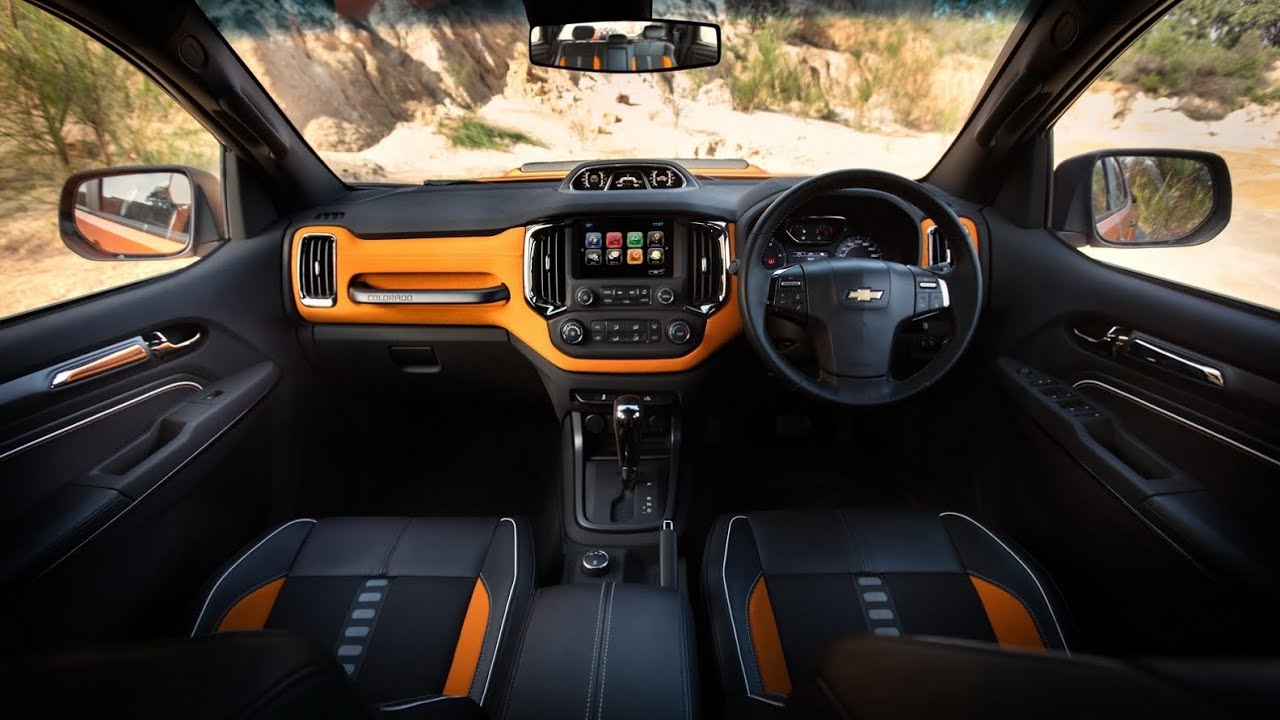 2017 Chevrolet Colorado Xtreme Study Interior - YouTube