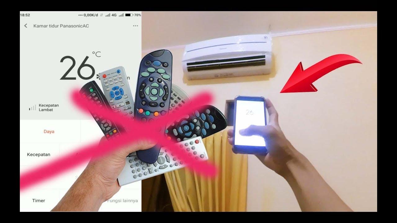 Wow Hp Bisa Jadi Remot Ac Tv Pake Mi Remote Begini Caranya Youtube