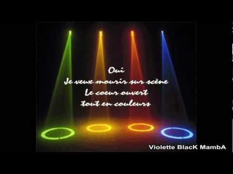 ♫ Mourir sur scène ♫ Julien Doré ~ Dalida (paroles/lyrics)