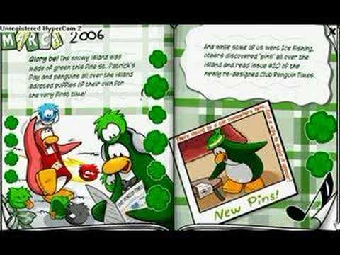 Club Penguin Yearbook 2005-2006