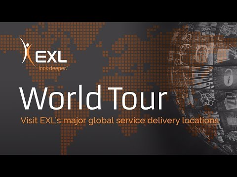 EXL World Tour of Operations Management and Analytics Delivery Centers