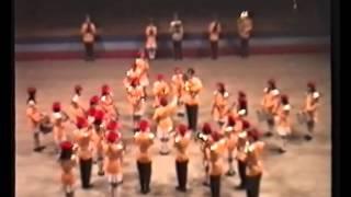 1990香港音樂統籌處步操管樂團比賽 地利亞修女紀念學校(美
