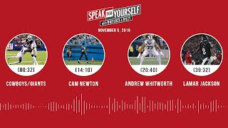 SPEAK FOR YOURSELF Audio Podcast (11.05.19)with Marcellus Wiley, Jason Whitlock | SPEAK FOR YOURSELF