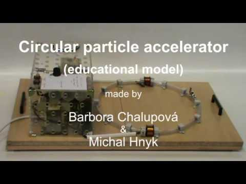 Particle accelerator - educational model