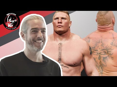 Tattoo Artists React To Brock Lesnar's Tattoos