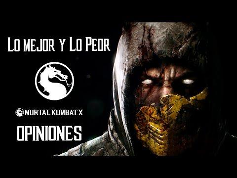 Mortal Kombat X Opiniones, Criticas Dlc's y Análisis Extenso en Español Lo Bueno y Lo Malo PS4/PC