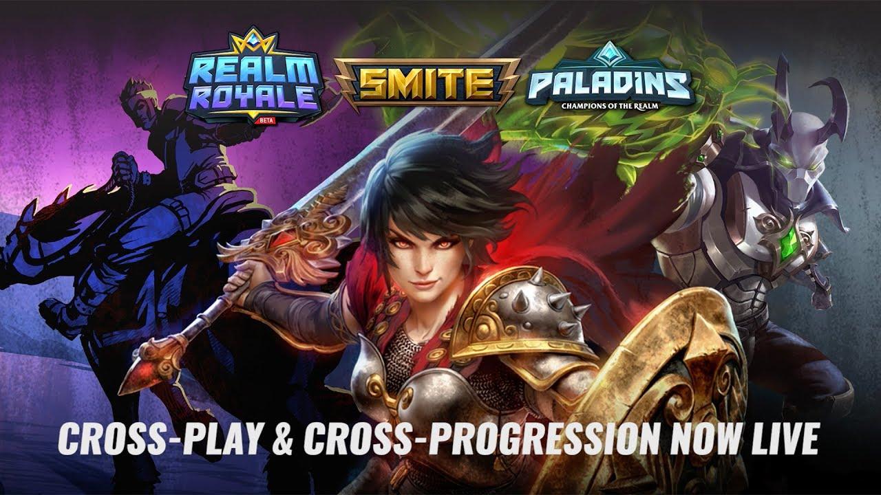 Paladins - Cross-Play & Cross-Progression Now Live!