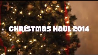 CHRISTMAS HAUL 2014❄☃ | BeautyPolice101 Thumbnail