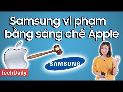 Samsung bồi thường vi phạm bằng sáng chế của Apple || TechDaily || TECHMAG