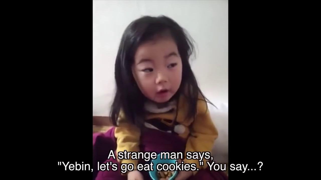 Mom Teaches Cute Korean Baby Yebin A Life Lesson