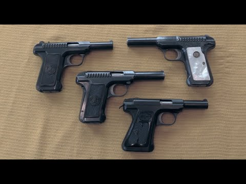 Savage Automatic Pistols: Overview