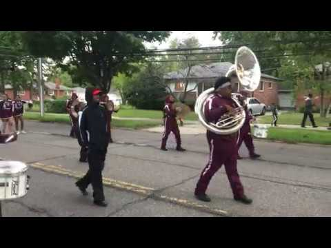 Harper Woods High School Homecoming Parade 2018