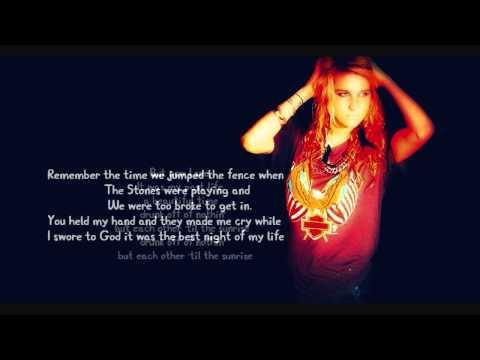 Ke$ha - The Harold Song  Lyrics Video