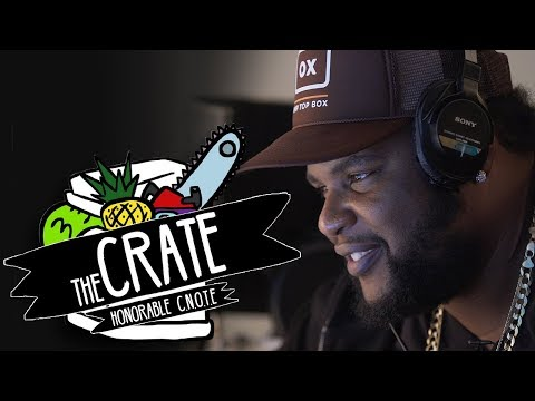 Honorable C.N.O.T.E. Makes A Beat On The Spot | The Crate