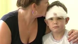 Семилетний мальчик спас девочку от напавшей на неё собаки
