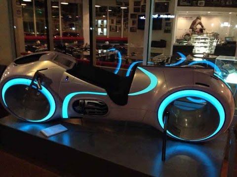 Tron Bike Updated 2016 - YouTube