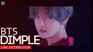 BTS- Illegal/Dimple line distribution