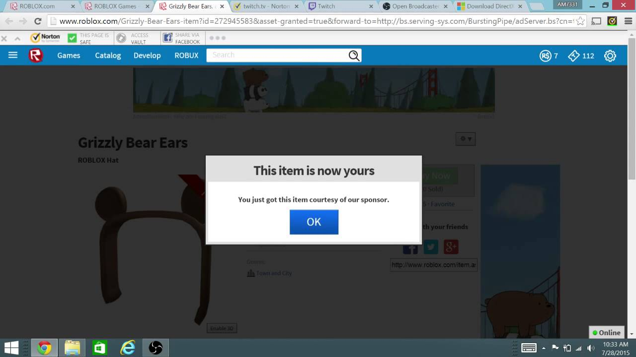 how to get all items in roblox event univurse
