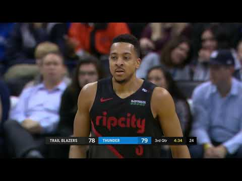 Portland Trail Blazers vs Oklahoma City Thunder : January 22, 2019
