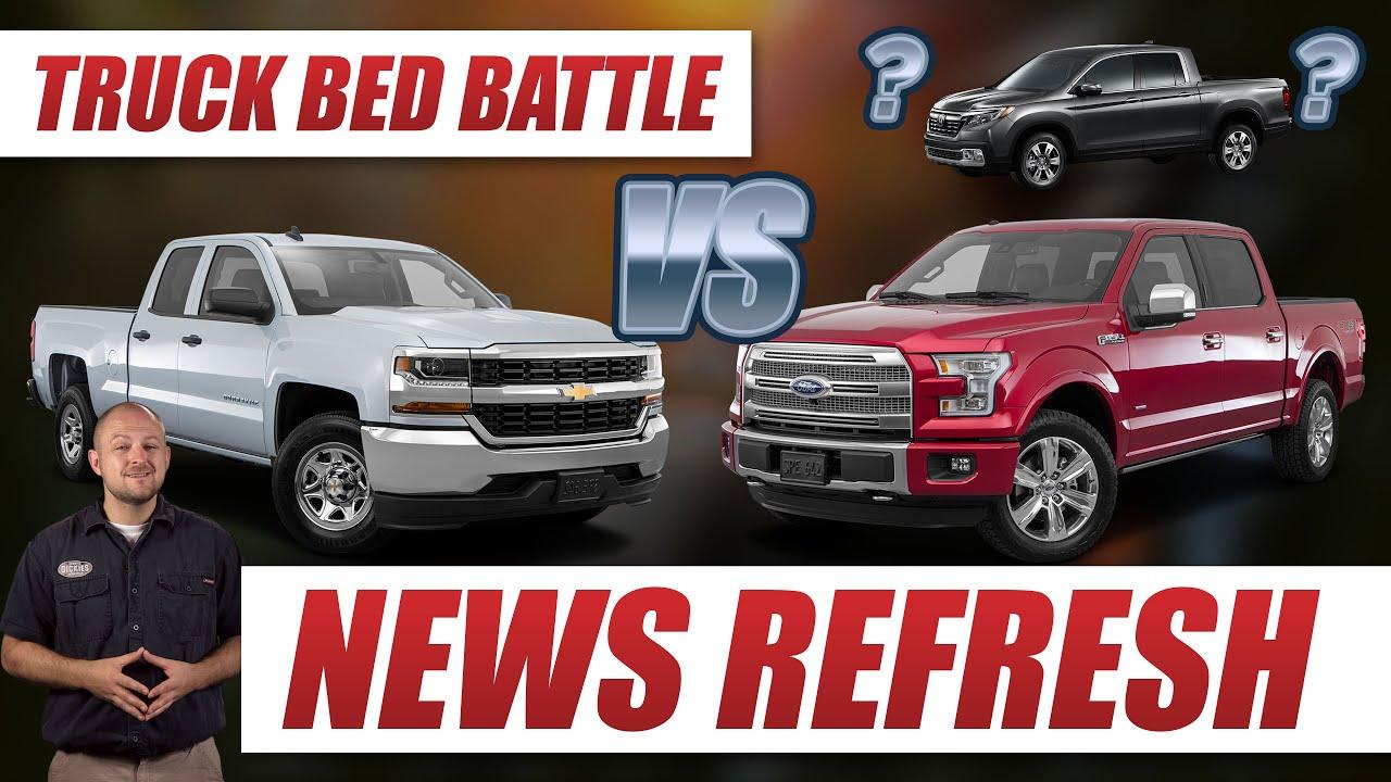 Truck Bed Battle Ford F 150 vs Chevy Silverado vs… Honda Ridgeline