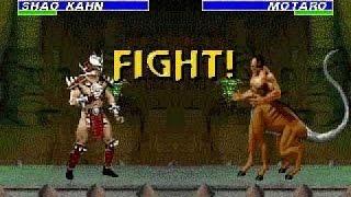 ultimate Mortal Kombat 3 - Killer Codes, Shao Khan/ Motaro