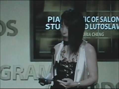 Gloria Cheng 2009 51st Grammys Award Acceptance Speech