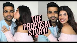 STORY TIME : The Proposal! | How it actually happened... | Malvika Sitlani