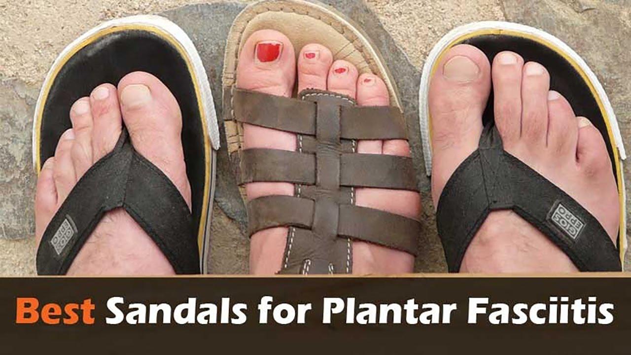 Best Sandals And Flip Flops For Plantar