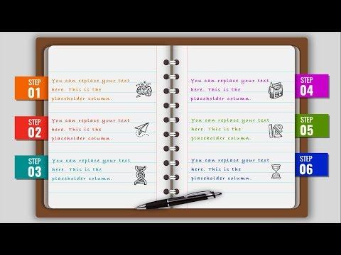 Multipurpose Powerpoint Template Notebook Design Business