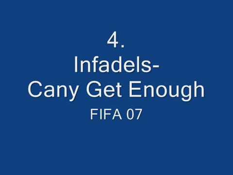 top 15 FIFA soundtracks