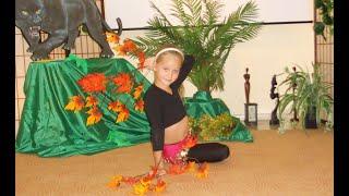 самая маленькая ученица, импровизация после урока, студия танца Анны Корбан