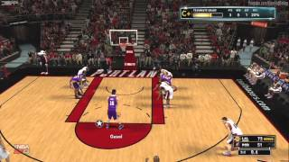 NBA 2K13: Best Debut Ever My Player [HD] Gameplay Xbox360/PS3/PC