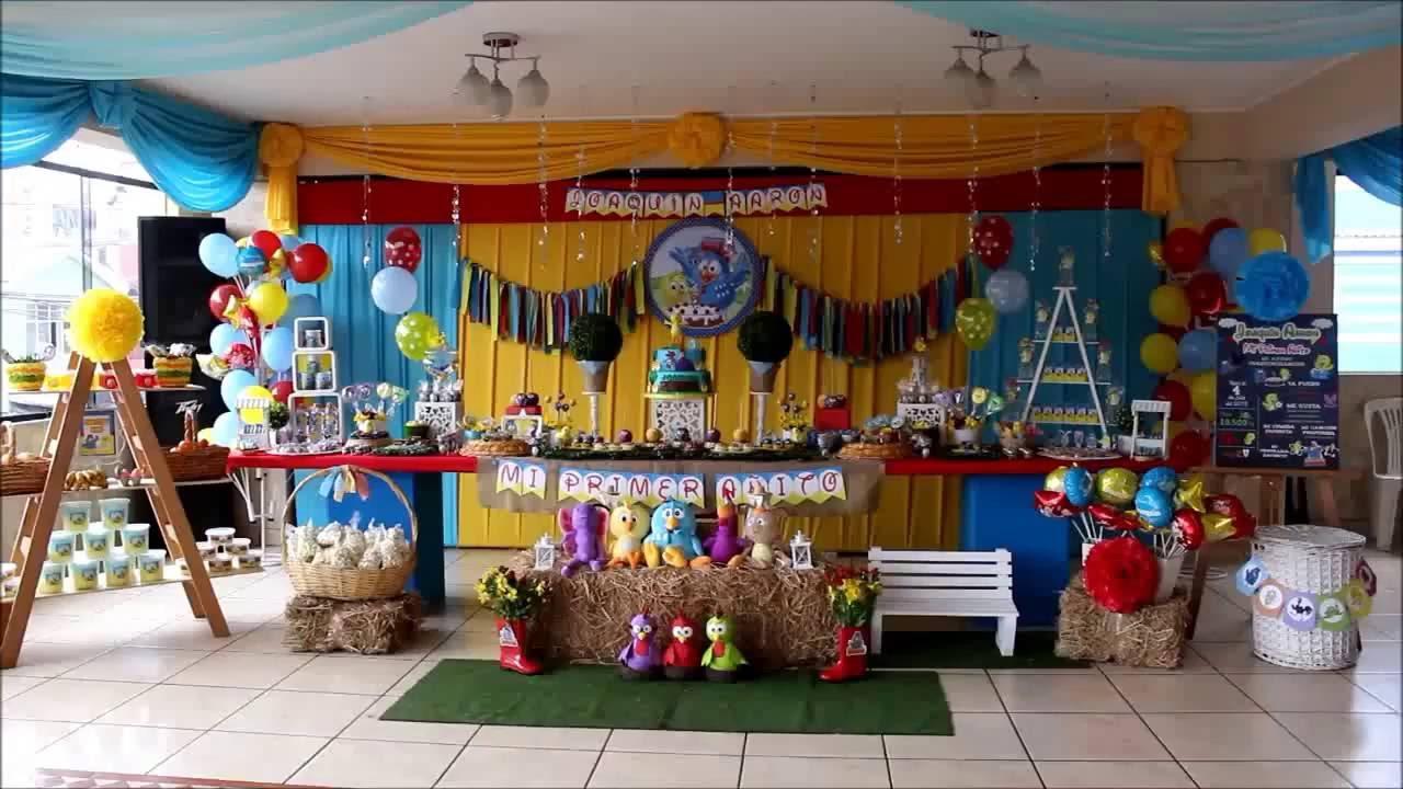 Decoracion Gallina Pintadita Decoraciones Tematicas Delis Party