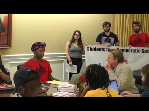SDS Addresses Racial Issues at UNF