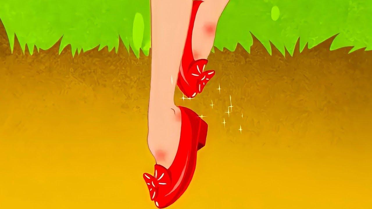 빨간 구두 + 신데렐라 | 만화 | 어린이를 위한 동화 | 만화 애니메이션